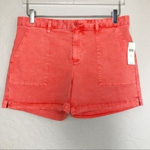 Anthropologie Sanctuary Coral Shorts Size 29
